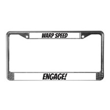 Quick Whips License Plate Frame