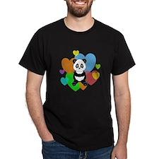 Panda Hearts T-Shirt