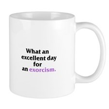 Excellent Exorcism Mug - Black Text Mugs