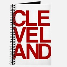 Cleveland Red Bold Typographic Journal