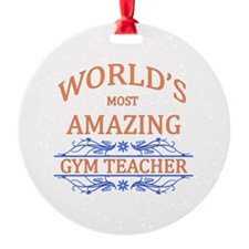 Gym Teacher Ornament