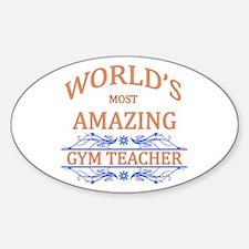 Gym Teacher Decal