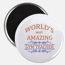 Gym Teacher Magnet