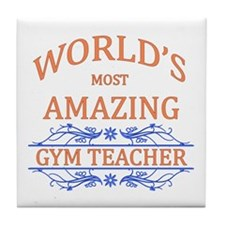 Gym Teacher Tile Coaster