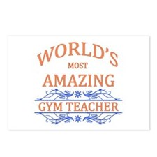 Gym Teacher Postcards (Package of 8)