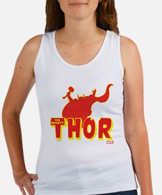 Thor Red Silhouette Women's Tank Top