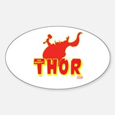 Thor Red Silhouette Decal