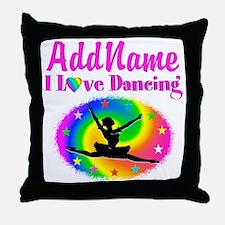 DAZZLING DANCER Throw Pillow
