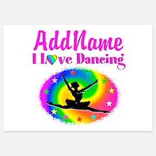 DAZZLING DANCER Invitations