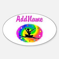 DANCING PRINCESS Sticker (Oval)