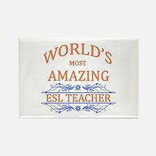 ESL Teacher Rectangle Magnet