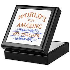 ESL Teacher Keepsake Box