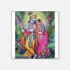 """Cute Hindu Square Sticker 3"""" x 3"""""""