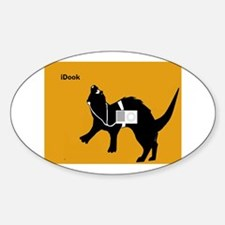 iDook Ferret Oval Decal