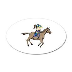 Equestrian Rider Wall Decal