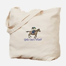 Girls Cant What Tote Bag
