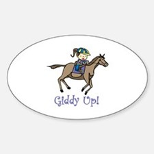Giddy Up Decal