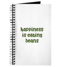 happiness is eating beans Journal