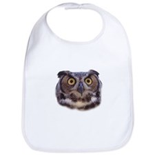 Cute Womens owl Bib