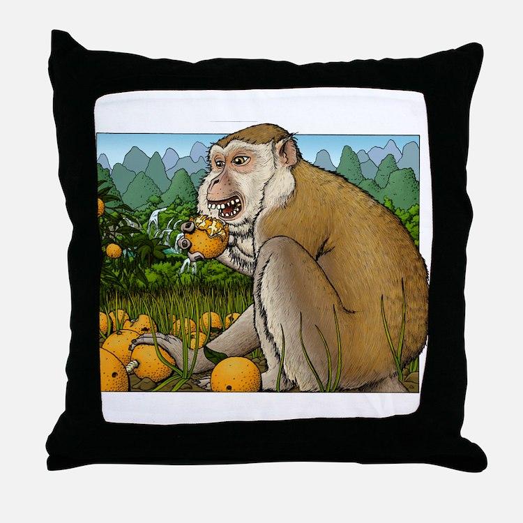 Guangxi Citrus Throw Pillow