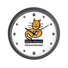 Feline Network Logo -  Wall Clock