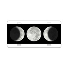 Cute Solar system Aluminum License Plate