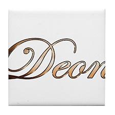 Cute Deon Tile Coaster