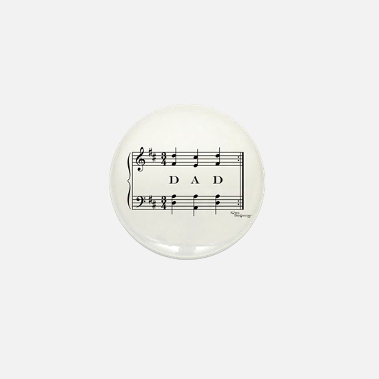 dad (piano) Mini Button