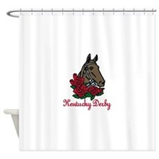 Kentucky Derby Shower Curtain
