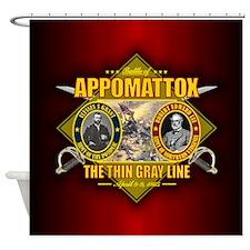 Appomattox (battle)1.png Shower Curtain
