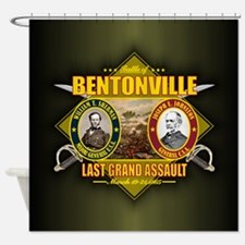 Bentonville (battle)1.png Shower Curtain