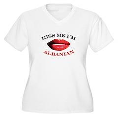 Kiss Me I'm Albanian T-Shirt