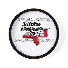Jayden Airlines Wall Clock