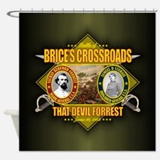Brices Crossroads (battle)1.png Shower Curtain