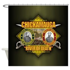 Chickamauga (battle).png Shower Curtain