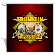 Franklin (battle)1.png Shower Curtain