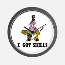 I Got Skills Wall Clock