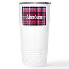 Tartan - Aberdeen dist. Travel Coffee Mug