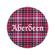 """Tartan - Aberdeen dist. 3.5"""" Button"""
