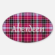 Tartan - Aberdeen dist. Decal