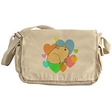 Hamster Hearts Messenger Bag