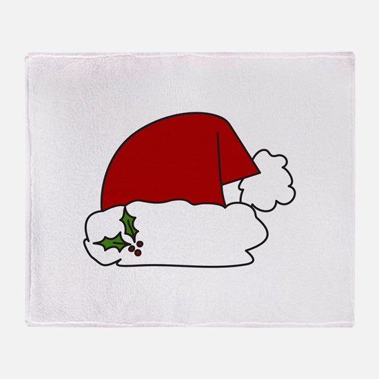 Santa Hat Throw Blanket