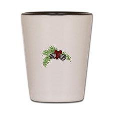 Jingle Bell Branch Shot Glass