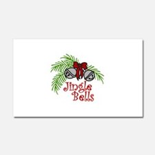 Jingle Bells Car Magnet 20 x 12