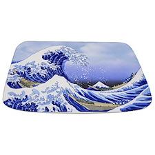 Surf's Up! Hokusai's The Great Wave Bathmat