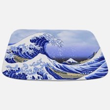 Surf's Up! Hokusai's The Great Wave Bathmat