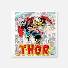 "Thor Panels Square Sticker 3"" x 3"""