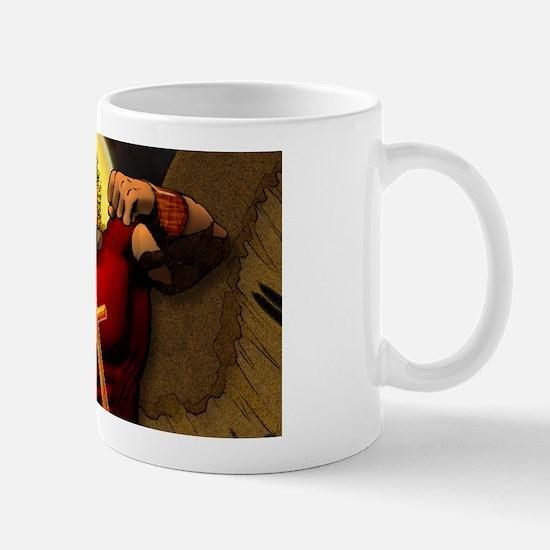 St. Michael, Defend us in bat Mug