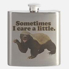 Cute Honey badger Flask