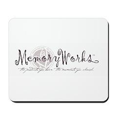 MemoryWorks Logo Mousepad